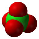 Perchlorate Molecule Model
