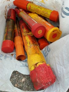 Expired Flares Explosive Hazardous Waste