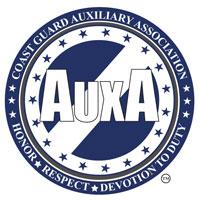 Coast Guard Auxiliary A logo