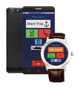 Sirius Signal Float Plan app