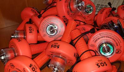 Sirius Signal C-1003 distress light donation for Hurricane Ida